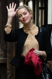Amber Heard - Arrives at the Royal Courts of Justice in London 07/22/2020