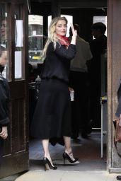 Amber Heard - Royal Courts of Justice in London 07/23/2020