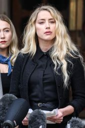 Amber Heard - Royal Courts of Justice in London 07/28/2020