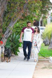 Ana De Armas & Ben Affleck - Out in Los Angeles 06/30/2020