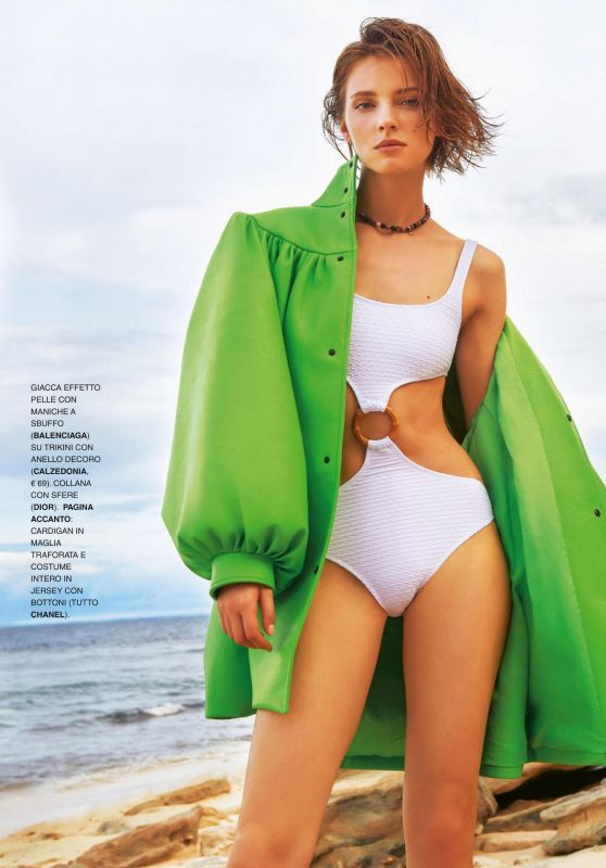 Anna Shoot - Grazia Magazine Italy 07/16/2020 Issue