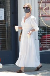 Annabelle Wallis - Out for Coffee in LA 07/19/2020