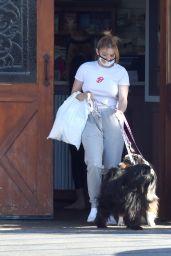 Ariel Winter and Boyfriend Luke Benward - Out in LA 06/30/2020