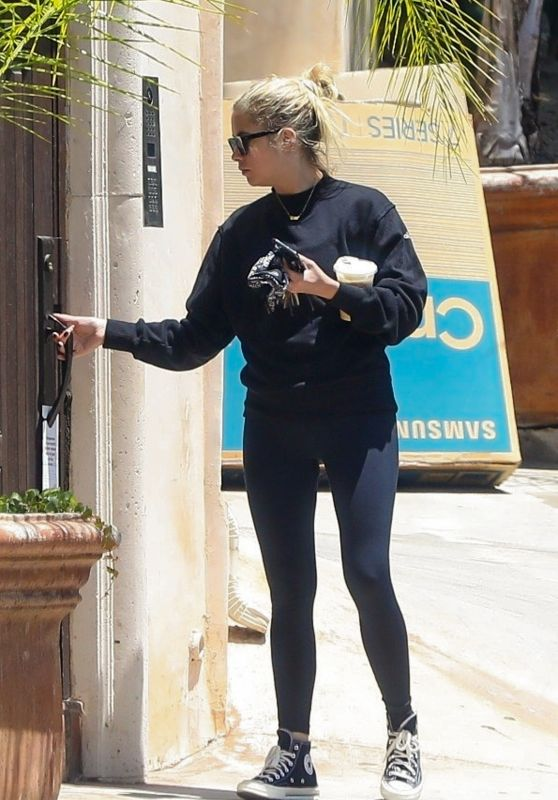 Ashley Benson in Casual Outfit - Los Angeles 07/27/2020