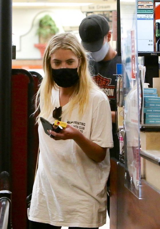 Ashley Benson - Shopping in Los Feliz 07/25/2020