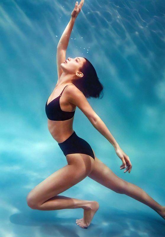 Bella Hadid - Calvin Klein Swimwear 2020 Campaign