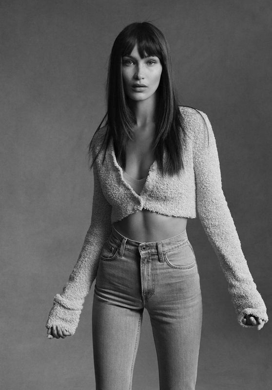 Bella Hadid - Helmut Lang's Pre-Fall 2020 Campaign Photoshoot