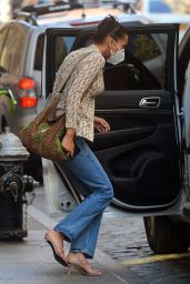 Bella Hadid - Out in Manhattan 07/27/2020