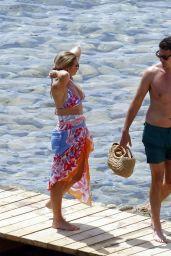 Billie Faiers in a Bikini - Holiday in Ibiza 07/15/2020