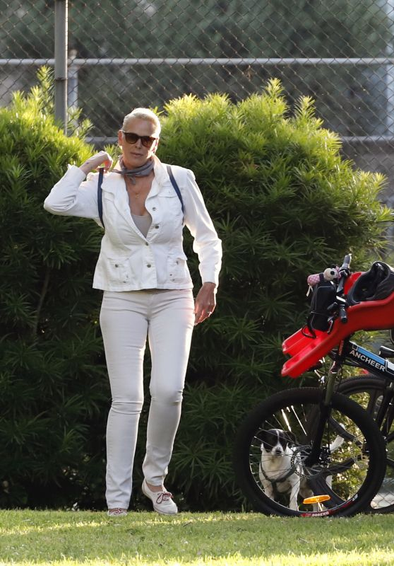 Brigitte Nielsen - Out in LA 07/05/2020