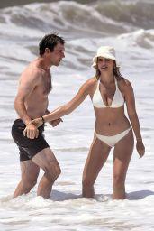 Brooks Nader in a White Bikini - Photoshoot in Hamptons 06/28/2020