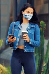 Camila Mendes Street Outfit - Los Angeles 07/01/2020