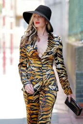 Caprice Bourret is Stylish - London 07/06/2020