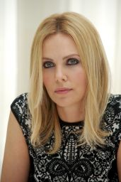 """Charlize Theron - Portraits for """"Prometheus"""" Press Conference in London"""