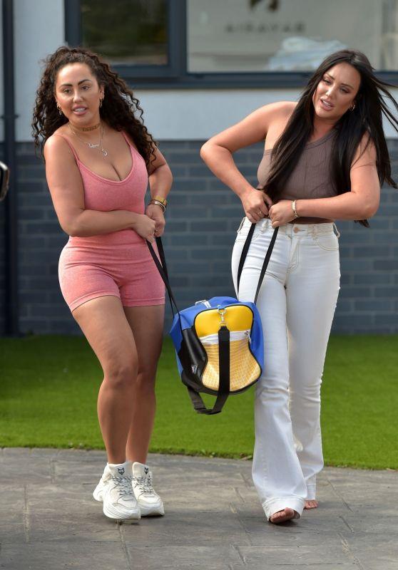 Charlotte Crosby and Sophie Kasaei - Ibiza 07/12/2020