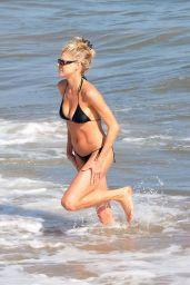 Charlotte McKinney in a Bikini at the Beach in Malibu 07/26/2020