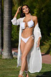 Chloe Khan in a Bikini by the Pool in Marbella 07/27/2020