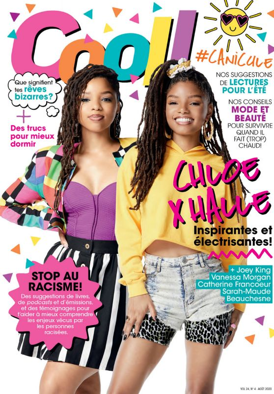 Chloe x Halle - COOL! Magazine August 2020 Issue