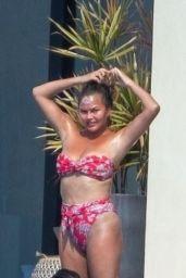 Chrissy Teigen in a Bikini - Cabo 07/06/2020