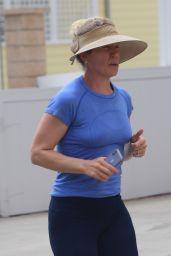 Christina Applegate - Jogging in Malibu 07/06/2020