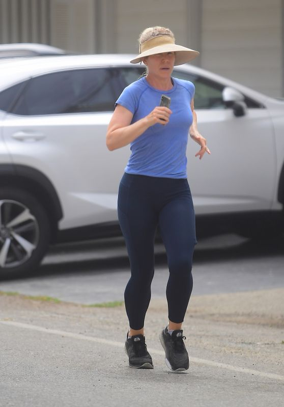 Christina Applegate - Jogging in Malibu 07/06/2020