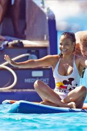 Christina Milian in a Swimsuit in St Tropez 07/20/2020