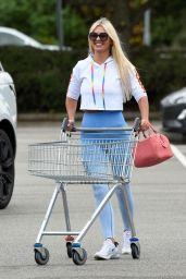 Christine McGuinness in Her My Vibe Gym Wear Range 07/09/2020