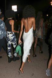 Cindy Bruna Night Out Style - Vip Room la Gioia in Saint Tropez 07/04/2020
