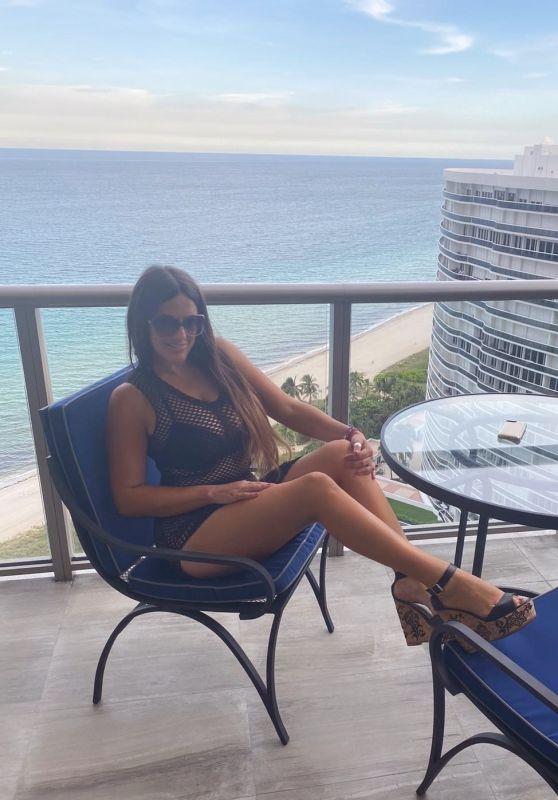 Claudia Romani at the St Regis Resort in Bal Harbor 07/20/2020