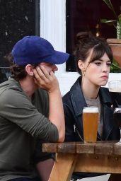Daisy Edgar-Jones and Tom Varey - Out in London 07/06/2020