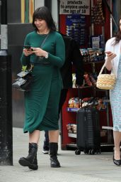 Daisy Lowe and Charli Howard - Shopping in London 07/07/2020