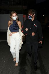 Delilah Belle Hamlin Night Out Style - The Treehouse Hotel in London 07/04/2020