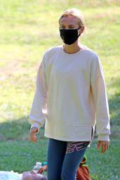 Diane Kruger at a Park in Los Angeles 07/22/2020