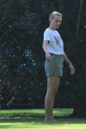 Diane Kruger - Out in Beverly Hills Park 07/09/2020