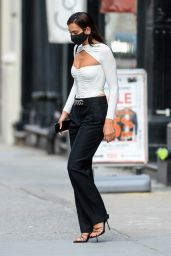 Dua Lipa - Out in the Greenwich Village in New York 07/16/2020