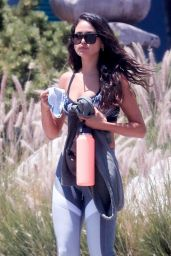 Eiza Gonzalez in Workout Outfit - LA 07/09/2020