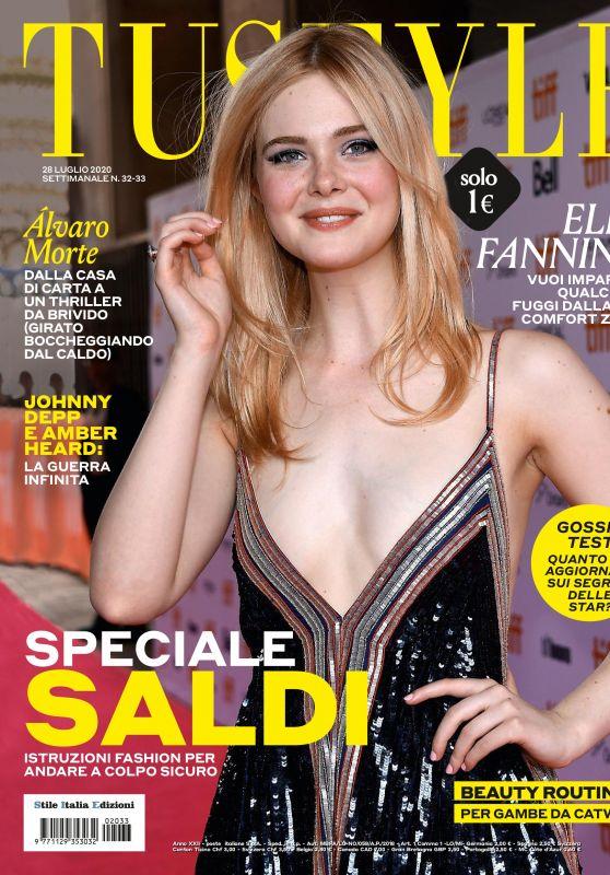 Elle Fanning - Tu Style Magazine 07/28/2020 Issue