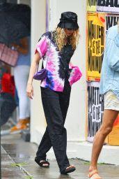 Elsa Hosk Cool Street Style - New York 06/30/2020