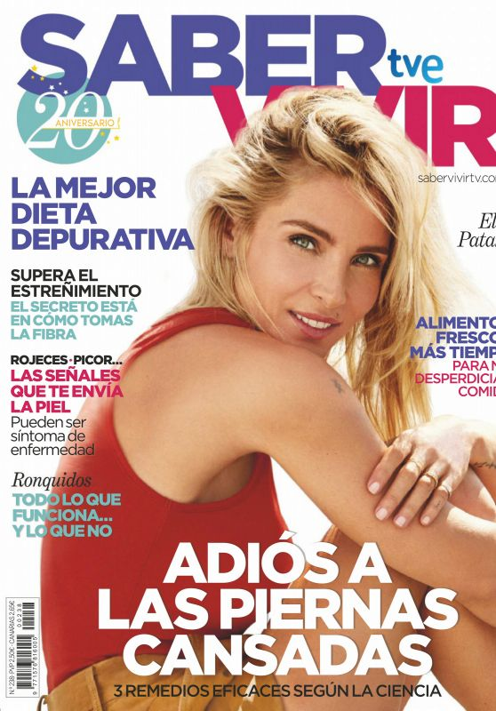 Elsa Pataky - Saber Vivir Magazine Spain August 2020 Issue