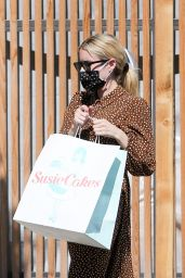 Emma Roberts - Picking Up Some Susie Cakes in LA 07/03/2020