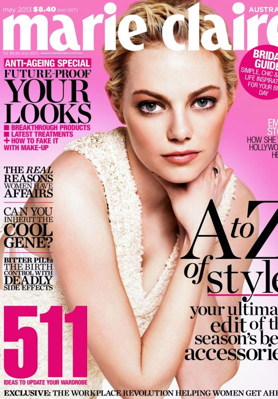 Emma Stone - Marie Claire Australia May 2013 Issue