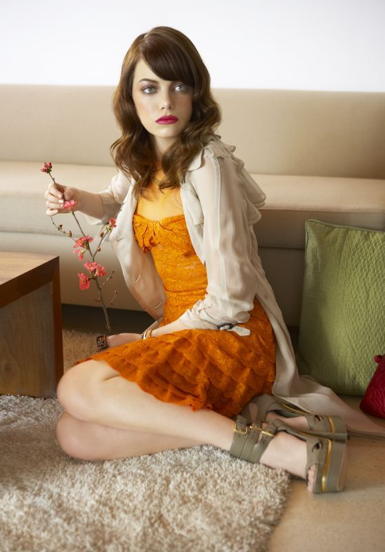 Emma Stone - Photoshoot for LA Confidential Magazine May/June 2009