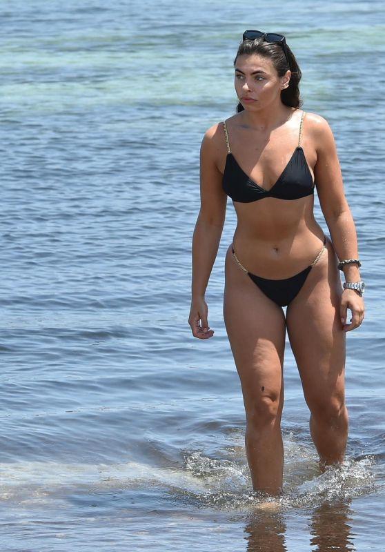 francesca bikini beach