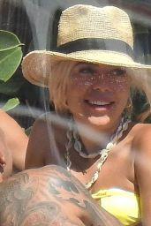 Gabby Allen in a Bikini - Ibiza 07/23/2020