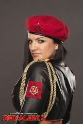 "Gina Carano - ""Command & Conquer: Red Alert 3"" Promoshoot and Wallpapers"