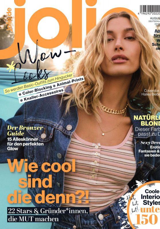 Hailey Bieber - Jolie Magazine 2020 Issue