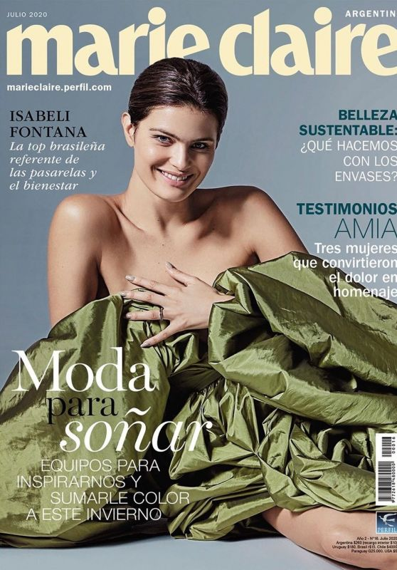 Isabeli Fontana - Marie Claire Argentina July 2020 Cover