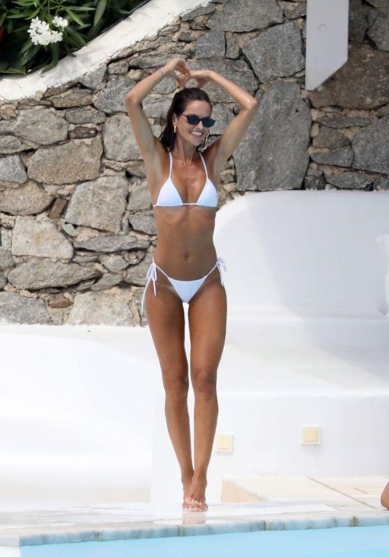 Izabel Goulart in a Bikini - Mykonos 07/07/2020