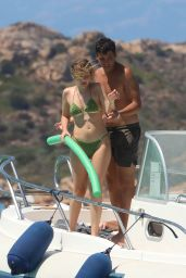 Jasmine Carrisi in a Green Bikini - Sardinia 07/24/2020