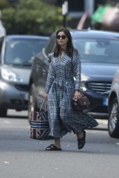 Jenna Coleman - Out in London 07/20/2020